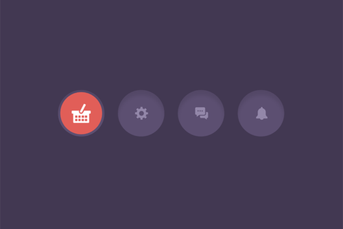 8 CSS & JavaScript Snippets for Creating Icon-Based Navigations
