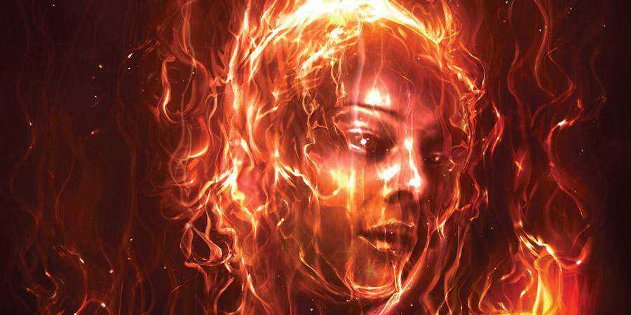 Paint With Fire Photoshop Tutorial