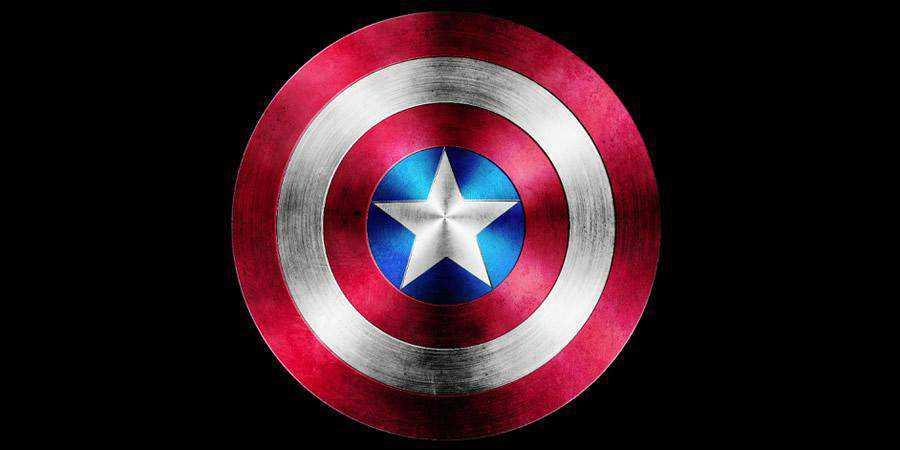 Captain America Shield tutorial graphic designers Photoshop