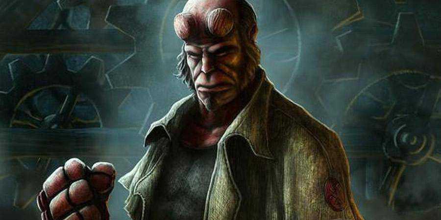Hellboy tutorial graphic designers Photoshop