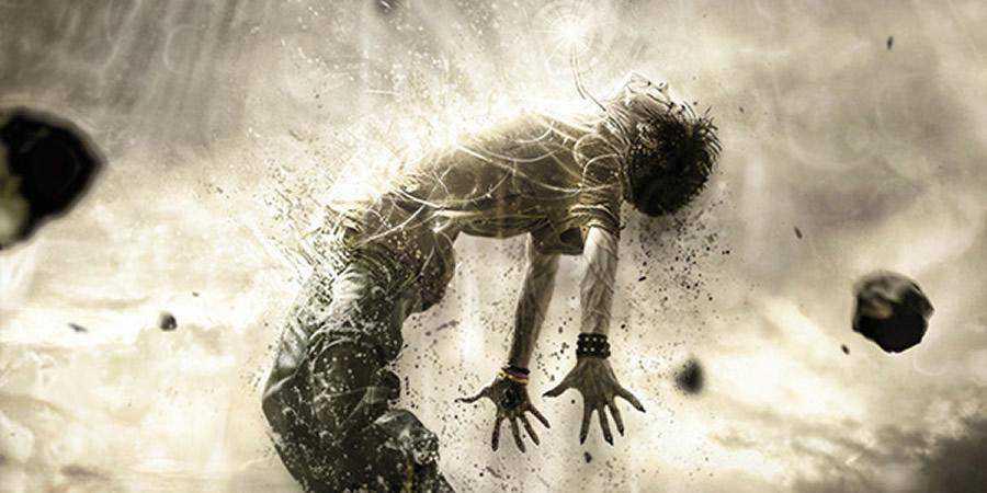 Human Disintegration Effect tutorial graphic designers Photoshop