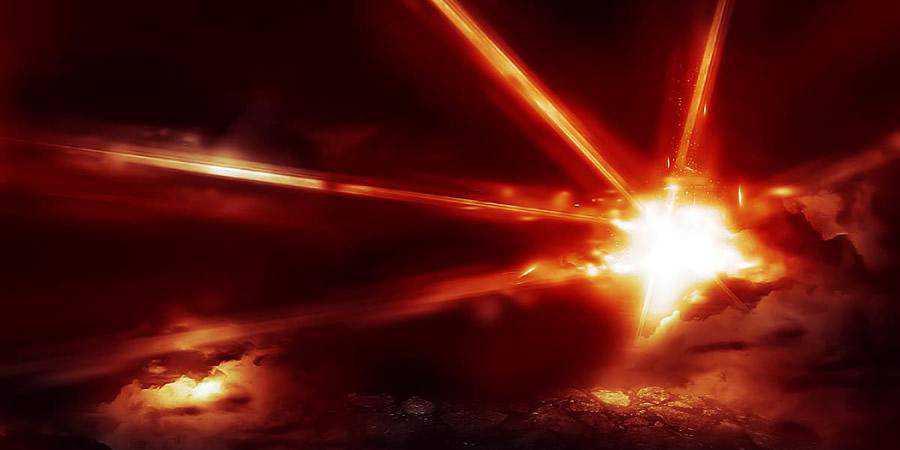 Realistic Laser Beam Effect tutorial graphic designers Photoshop