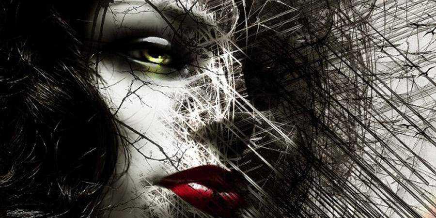 Chaotic Disintegration Effect Face tutorial graphic designers Photoshop