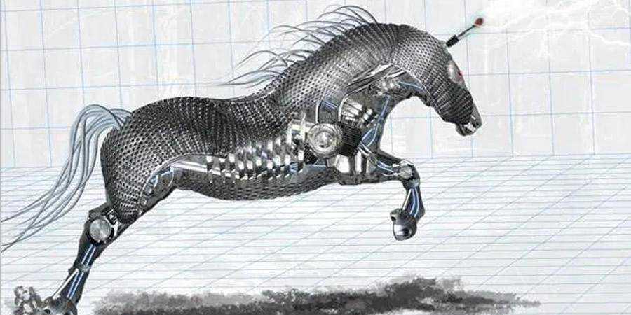 Amazing Mechanical Horse tutorial graphic designers Photoshop