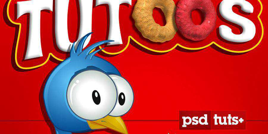 Cereal Box Cover Scratch Photoshop Tutorial