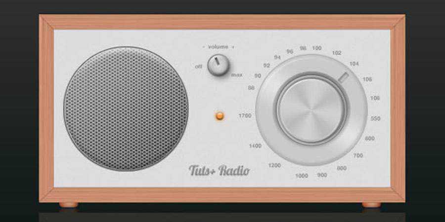 Cool Radio Icon Photoshop Tutorial