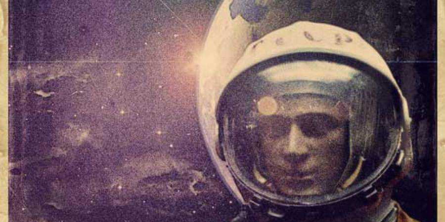 Retro Space Themed Poster tutorial graphic designers Photoshop