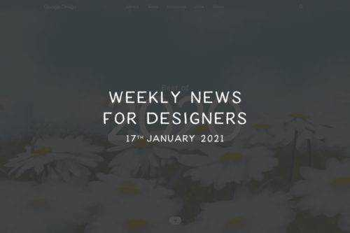 Weekly News for Designers № 575