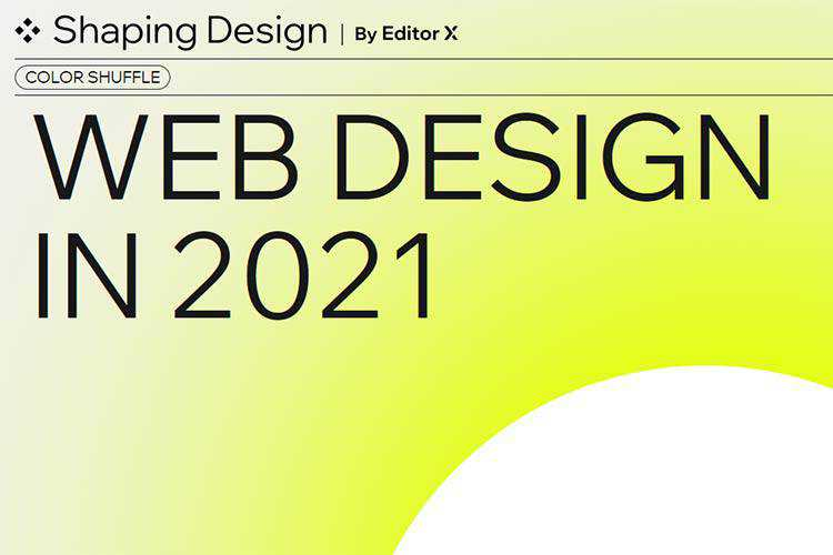 Example from Web Design in 2021