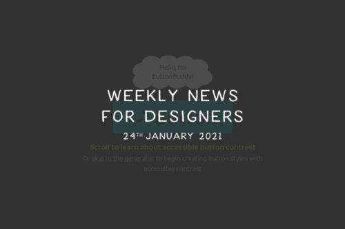 Weekly News for Designers № 576