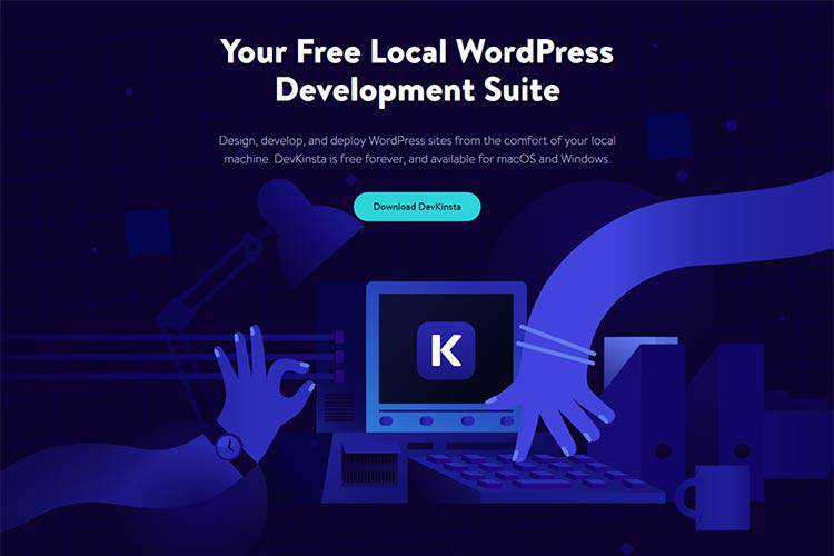 Example from Create a Local WordPress Development Environment for Free with DevKinsta