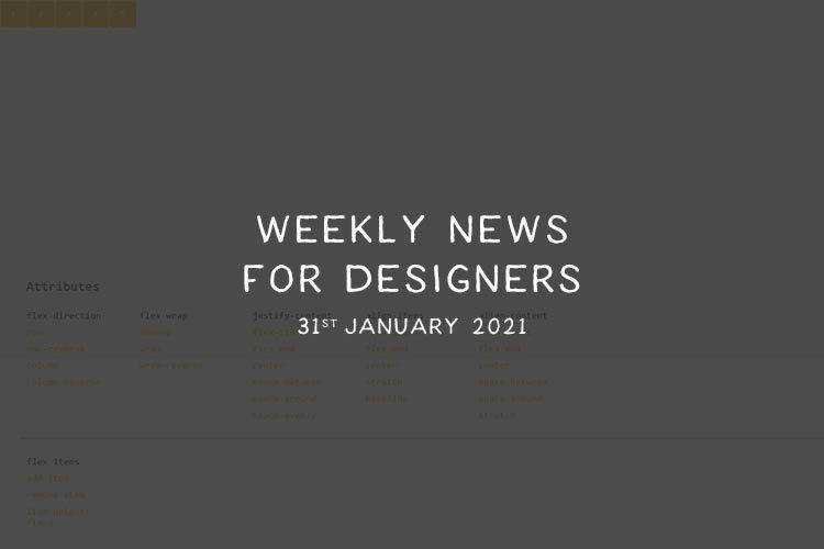 Weekly News for Designers № 577