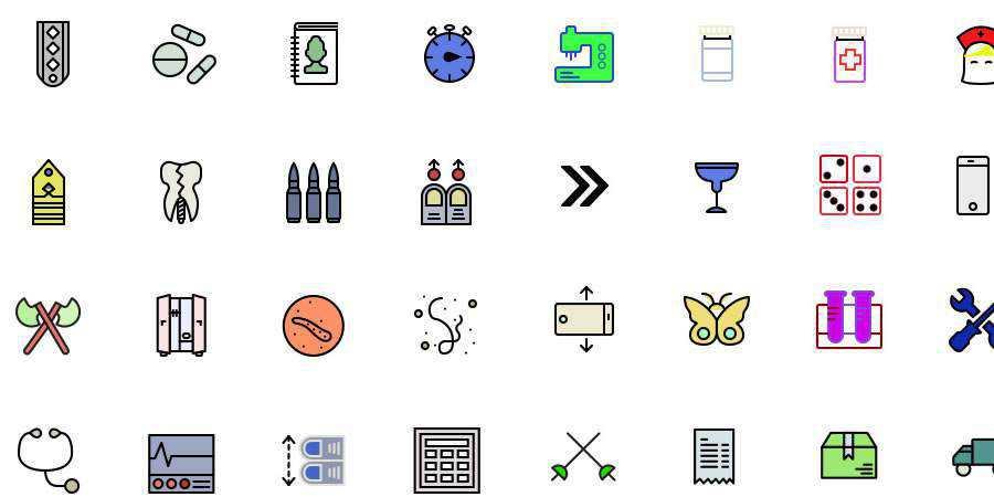 Retina Icon Set