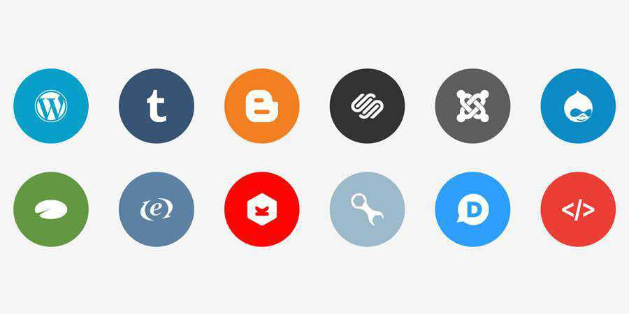 Publicons free Flat Icon Set