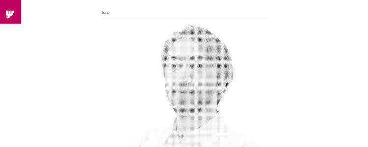inspiration Yaron Schoen example modern minimalist web design