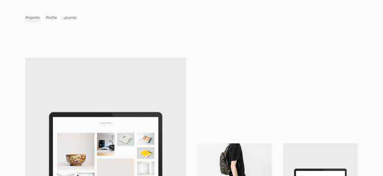 Cory Gibbons modern minimal web design site inspiration example
