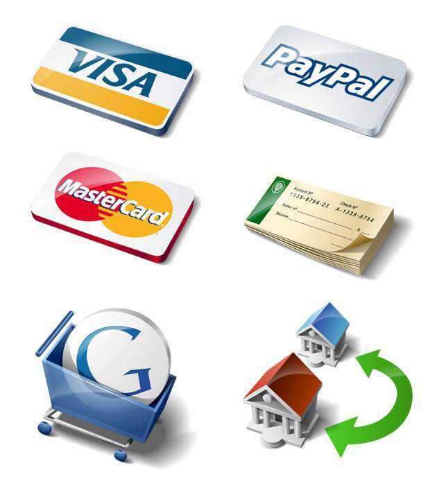 Payment Method Icon Set Free Download Visa Paypal Google MasterCard