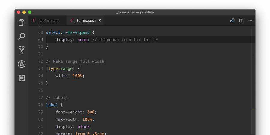 New Moon beautiful sublime text theme