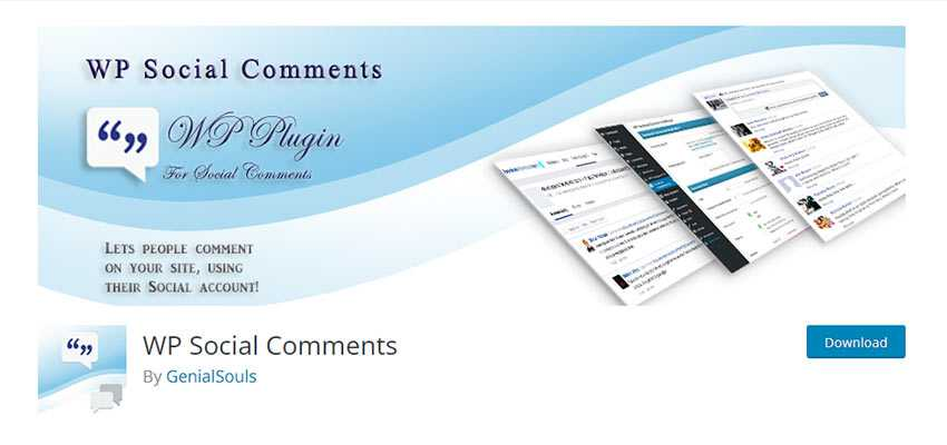 WP Social Comments