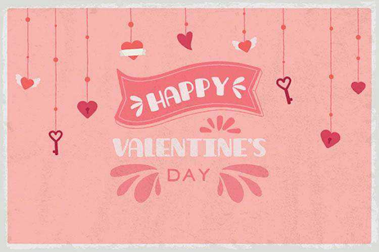 Free Cute Valentine's Day Cards and Backgrounds (AI & EPS)