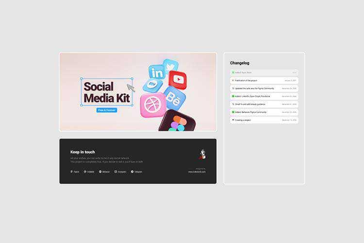 Example from Social media kit