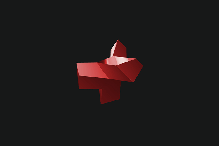 Example from Rotating Loading Animation of 3D Shapes with Three.js