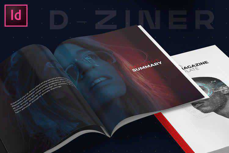 Example from 25 Free Magazine & Editorial Layout Templates for Adobe InDesign