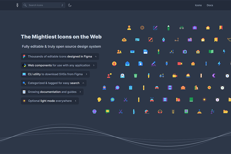 Example from Glyphs - The Complete Icon Design System