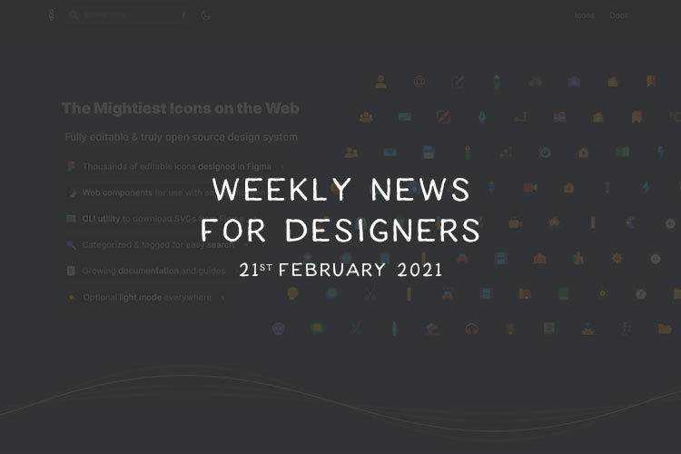 Weekly News for Designers № 580