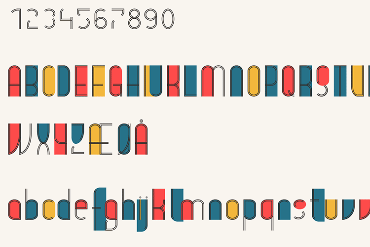 Example from CSS Border Font