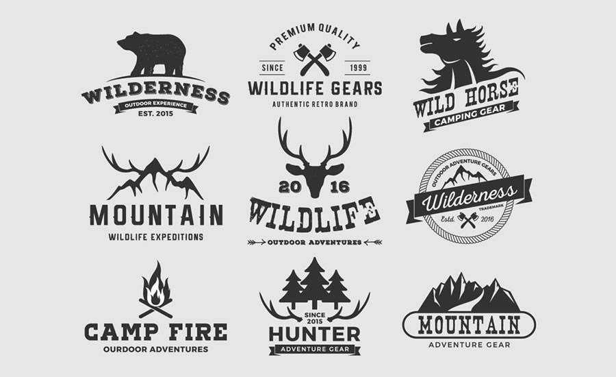 Adventure Logo Template Collection EPS Format