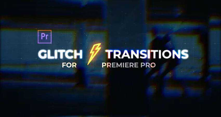 Glitch Transitions final cut pro fcpx preset template