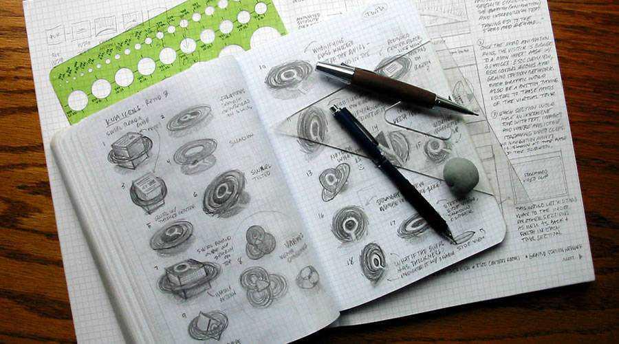 kit logo design sketch