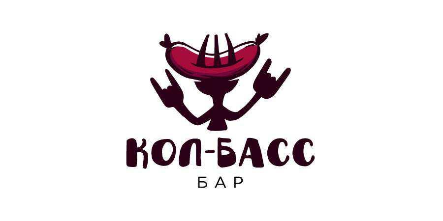 Rock-n-Roll Bar logo design restuarant food bar inspiration