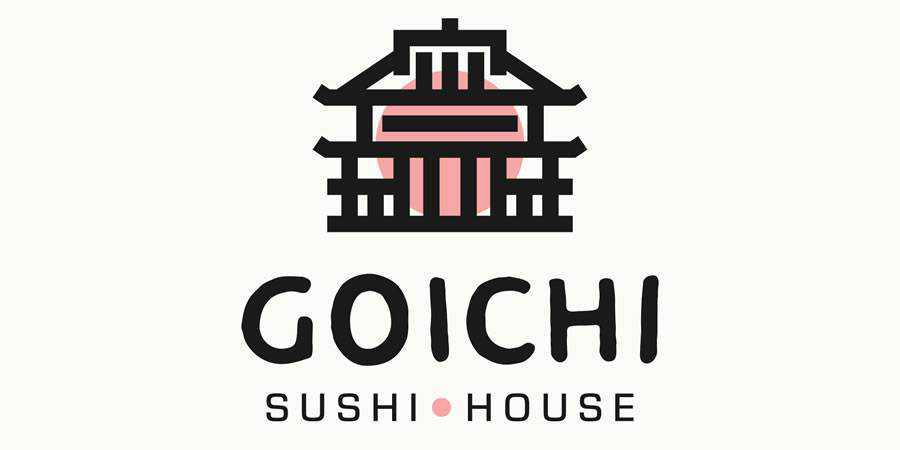 Goichi Sushi House logo design restuarant food bar inspiration