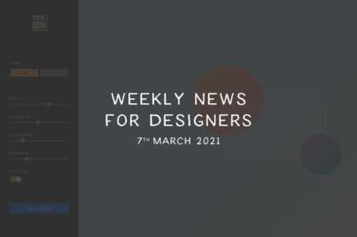 Weekly News for Designers № 582