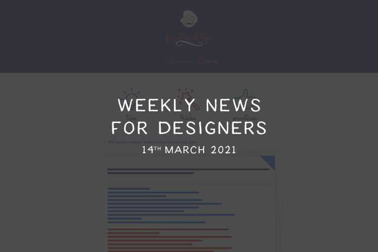 Weekly News for Designers № 583
