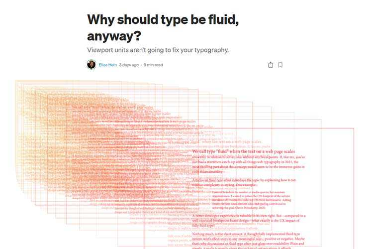 Example from Why should type be fluid, anyway?