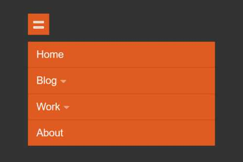 10 CSS & JavaScript Code Snippets for Creating Responsive Navigations