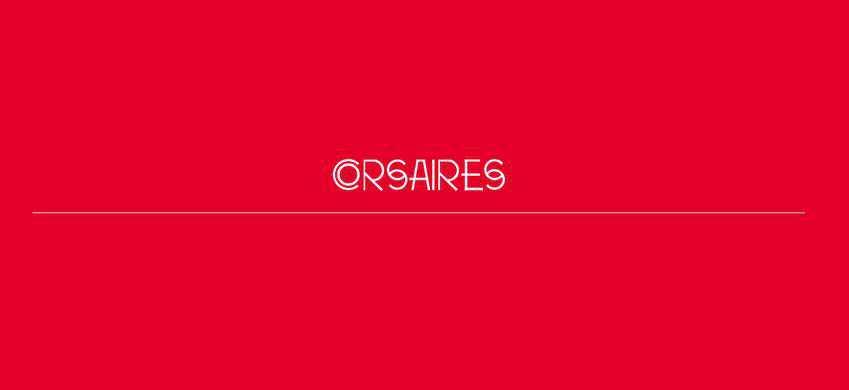splash screen web design trend Corsaires
