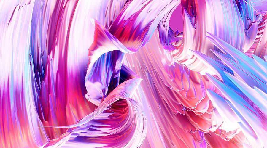 Paintwaves color abstract desktop wallpaper hd 4k high-resolution