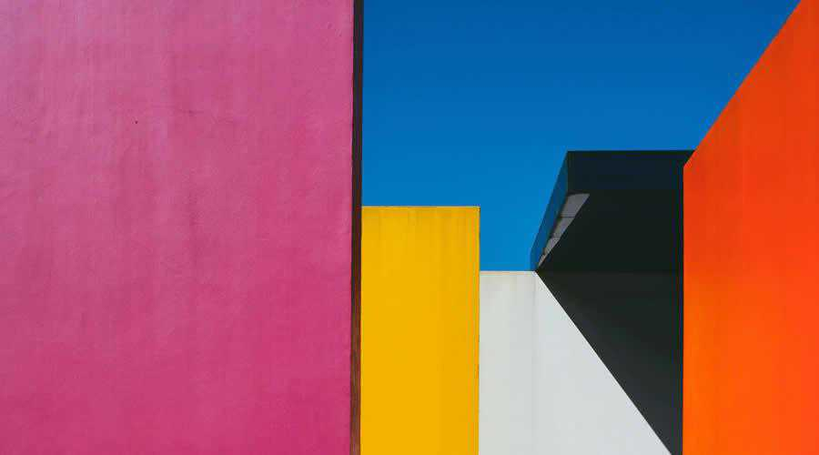 Multi-Colored Building color abstract desktop wallpaper hd 4k high-resolution