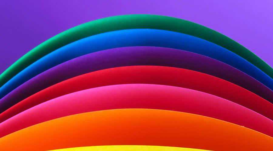 Multi-Colored Rainbow Artwork color abstract desktop wallpaper hd 4k high-resolution