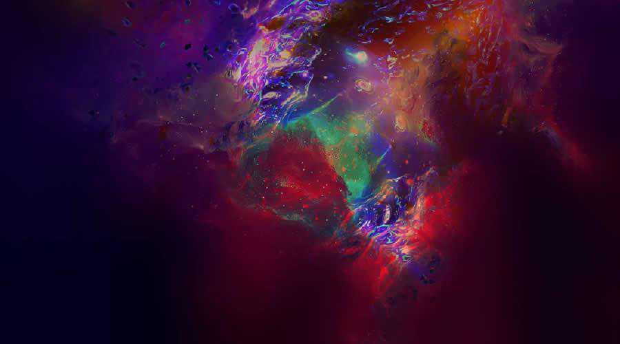 Abstract Universe color abstract desktop wallpaper hd 4k high-resolution