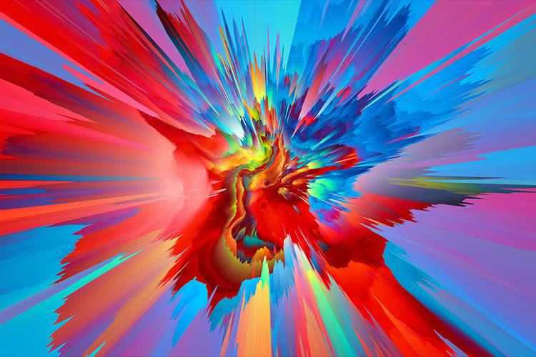 30 Stunning Colorful & Abstract 4K Desktop Wallpapers