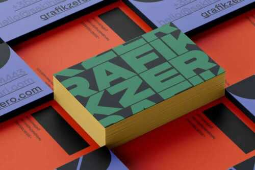 25 Inspirational & Creative Business Cards for Designers