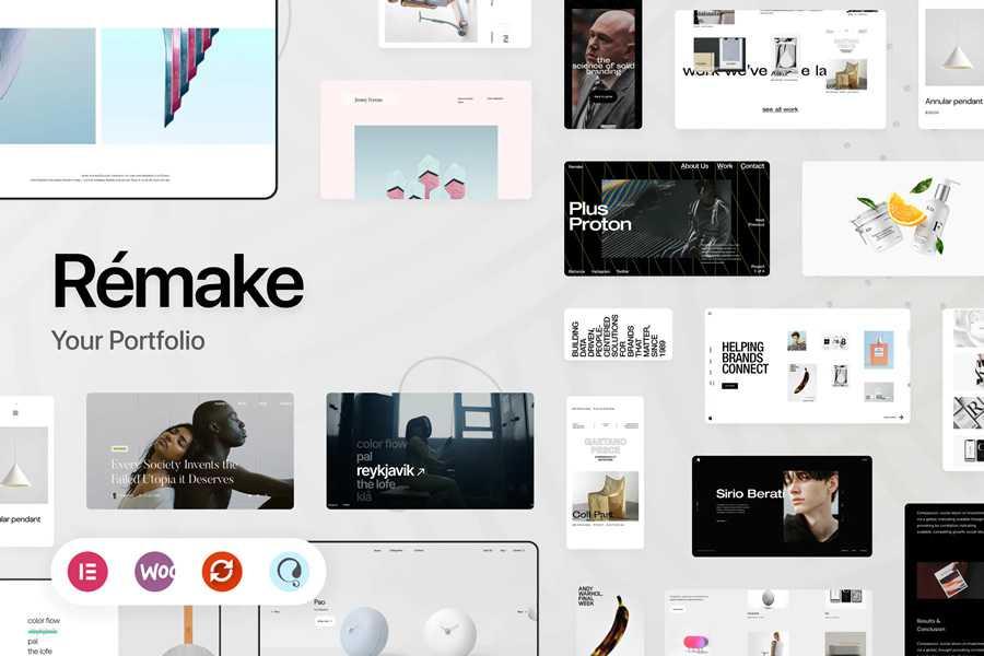 Remake WordPress Theme