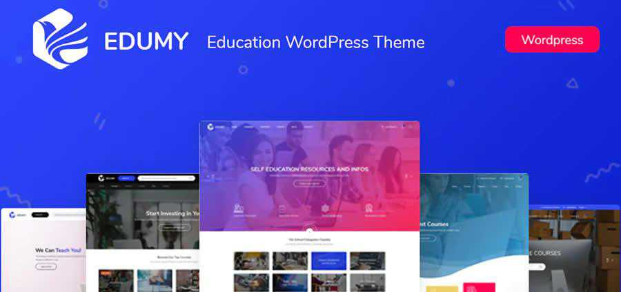 Edumy LMS Education WordPress Theme University College Web Design