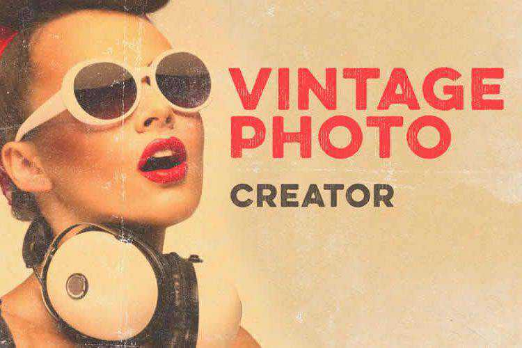 Example from 15 Free Vintage & Antique Brush Packs for Adobe Photoshop