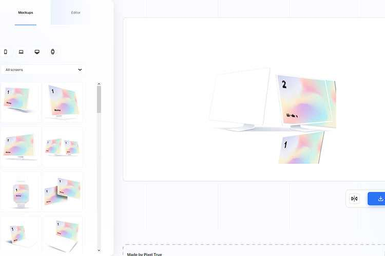 Example from Mockups
